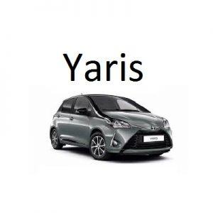 Housse siège auto Toyota Yaris