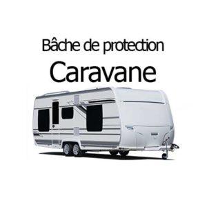Bâche de protection caravane