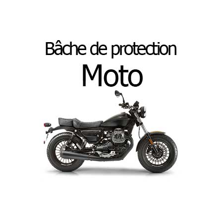 Bâche de protection moto