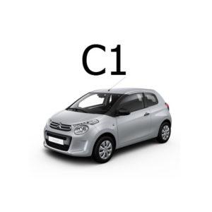 Housse siege auto Citroën C1