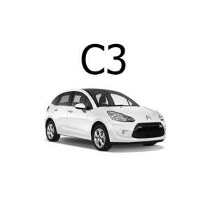 Housse siege auto Citroën C3