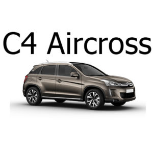Housse siege auto Citroën C4 Aircross