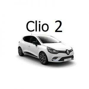 Housse siège auto Renault clio 2