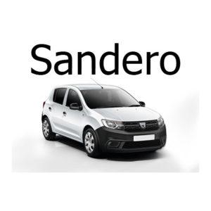 Housse siege auto Dacia Sandero