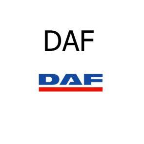 Housse siège utilitaire Daf