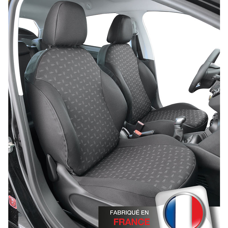 Housse de siège auto sur mesure Citroën C3 de 2009 à mars 2017 ... af9ef55f6d11