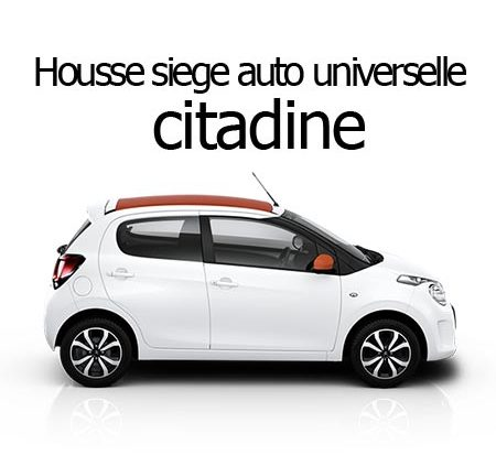 Housse siège auto universelle citadine