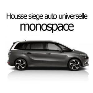 Housse siège auto universelle monospace