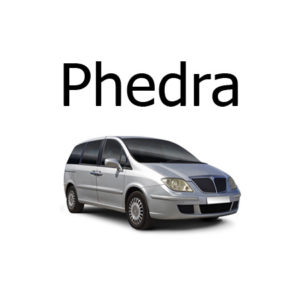 Housse siege auto Lancia Phedra