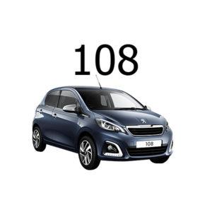 Housse siege auto Peugeot 108