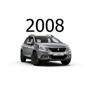 Housse siège auto Peugeot 2008