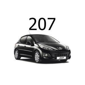 Housse siege auto Peugeot 207