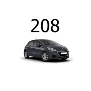 Housse siege auto Peugeot 208