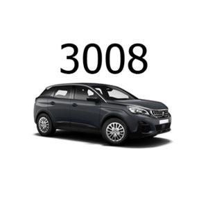 Housse siège auto Peugeot 3008