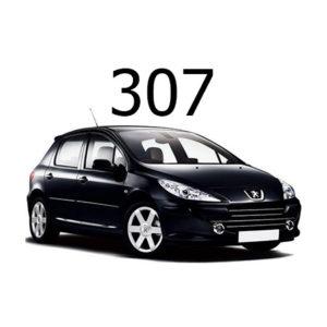 Housse siege auto Peugeot 307
