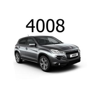 Housse siège auto Peugeot 4008