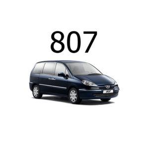 Housse siège auto Peugeot 807