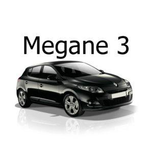 Housse siege auto Renault Megane 3