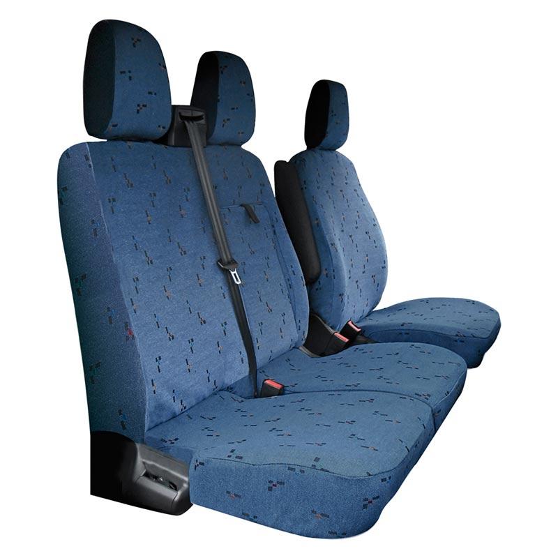 Housse si ges sur mesure ford transit custom de 2013 aujourd 39 hui avec tablette housse auto - Tablette pour siege auto ...