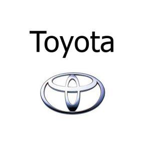 Housse siège auto Toyota