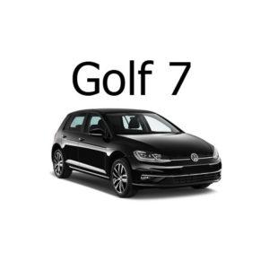 Housse siège auto VW Golf 7